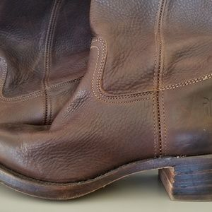 Frye's brown leather women's boots Size US 11